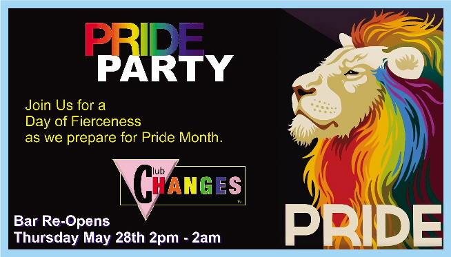 COVID19  Re-opening May 28 2020 Pride Party - EVENT