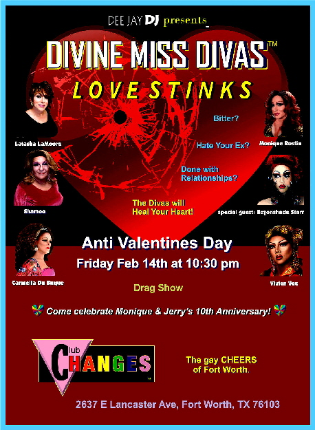 Divine Miss Divas - Feb 14 2020 Love Stinks poster-sm